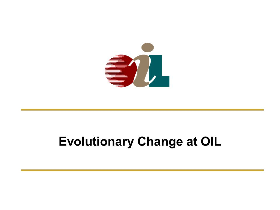 Evolutionary Change at OIL Marine Insurance Seminar - Sept 20, 2010Oil Insurance Limited2