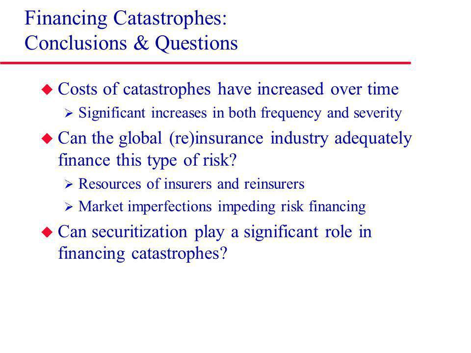 Reinsurance: Post-Disaster Capital Raising Source: Guy Carpenter (2009).