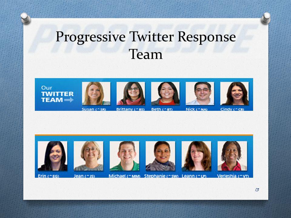 13 Progressive Twitter Response Team