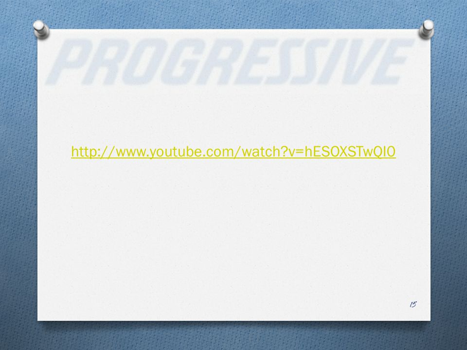 http://www.youtube.com/watch v=hESOXSTwQI0 15