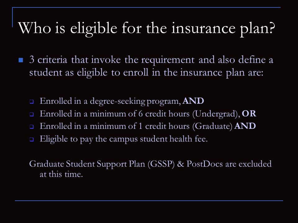 NCSU Student Insurance Coverage FALL Semester August 1 st, 2010 – December 31 st 2010 Spring/Summer Semester January 1 st 2011 – July 31 st 2011