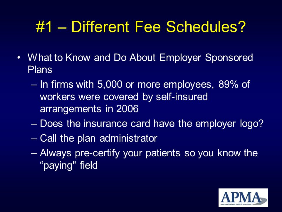 #1 – Different Fee Schedules.What If I Dont Like the Fee Schedule.
