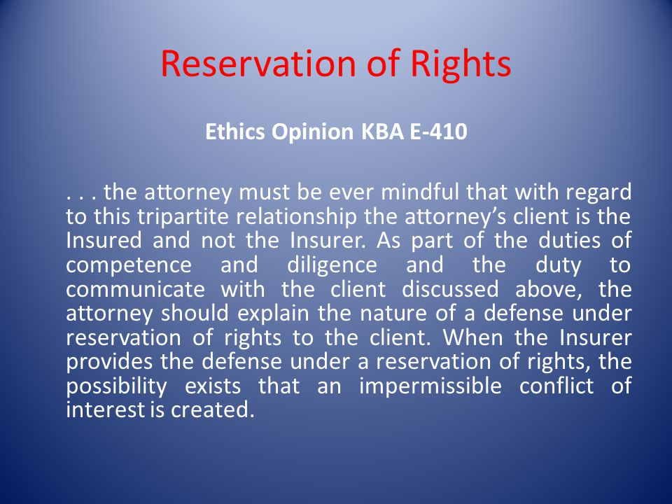 Ethics Opinion KBA E-410...