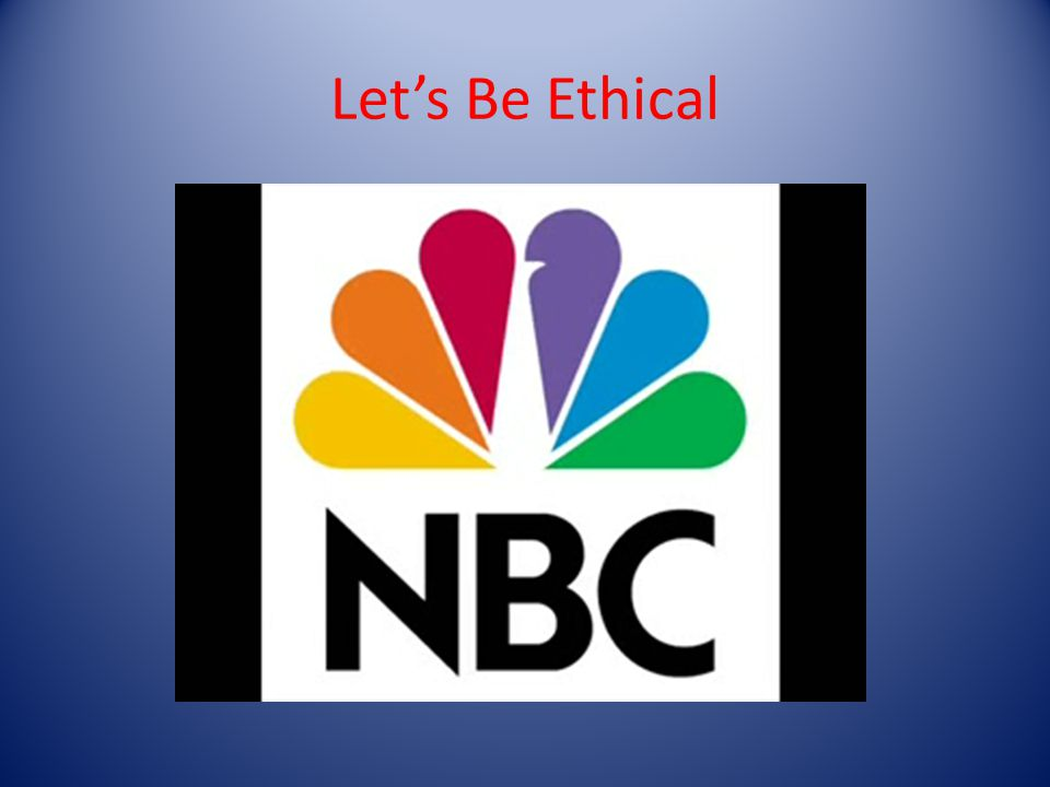 Lets Be Ethical