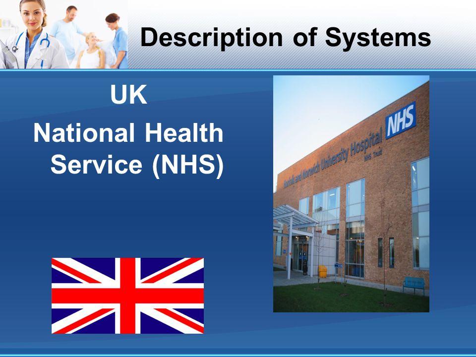 UK National Health Service (NHS)