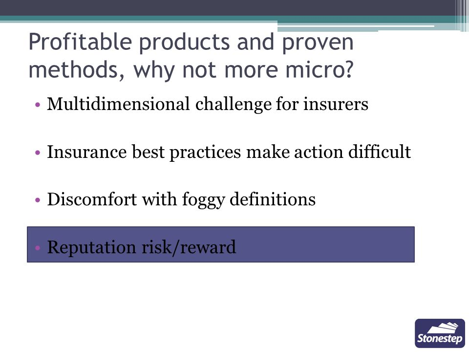 Microinsurance is understood differently from various perspectives.