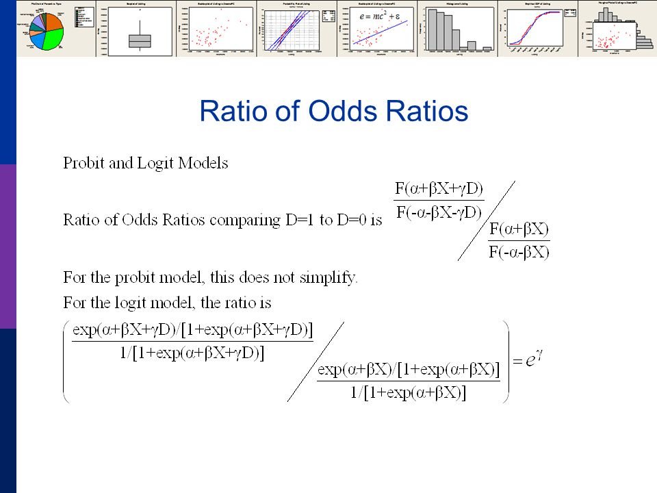 Ratio of Odds Ratios