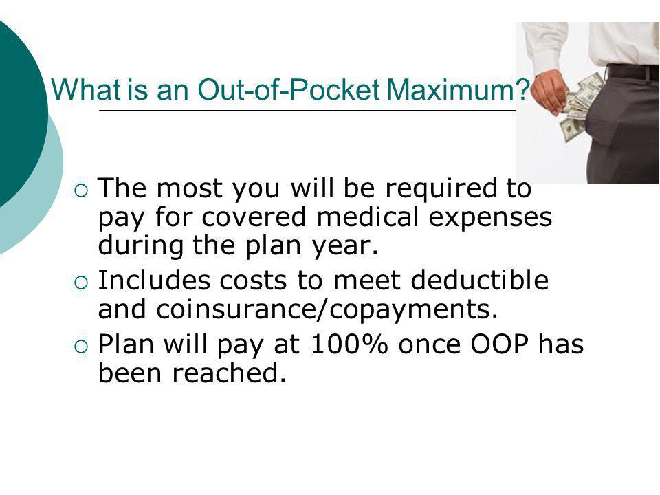 What is an Out-of-Pocket Maximum.