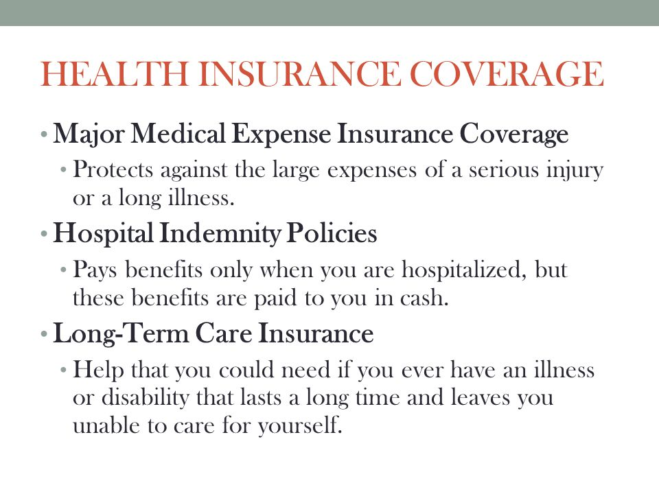 DISABILITY INCOME INSURANCE Benefits provide regular cash income lost by employees as the result of an accident, illness, or pregnancy.