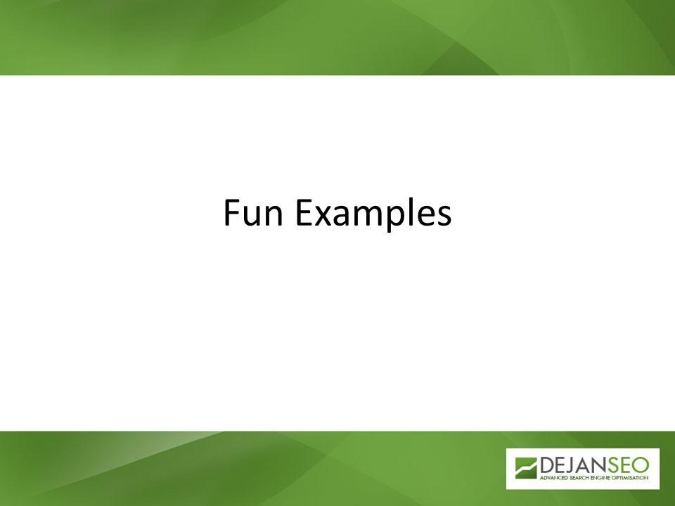 Fun Examples