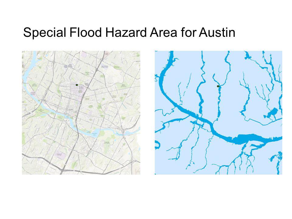 Special Flood Hazard Area for Austin