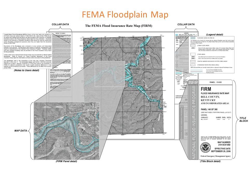FEMA Floodplain Map