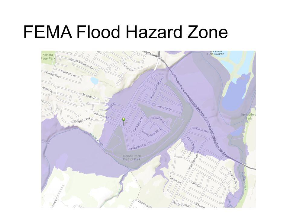 FEMA Flood Hazard Zone