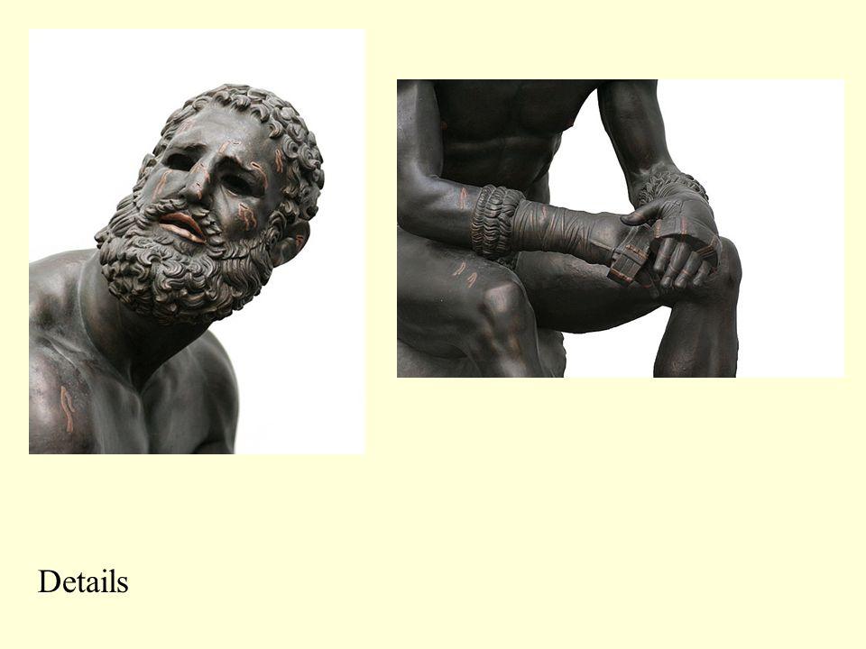 Boxer of Quirinal, Bronze copy of a Hellenistic Greek scuture