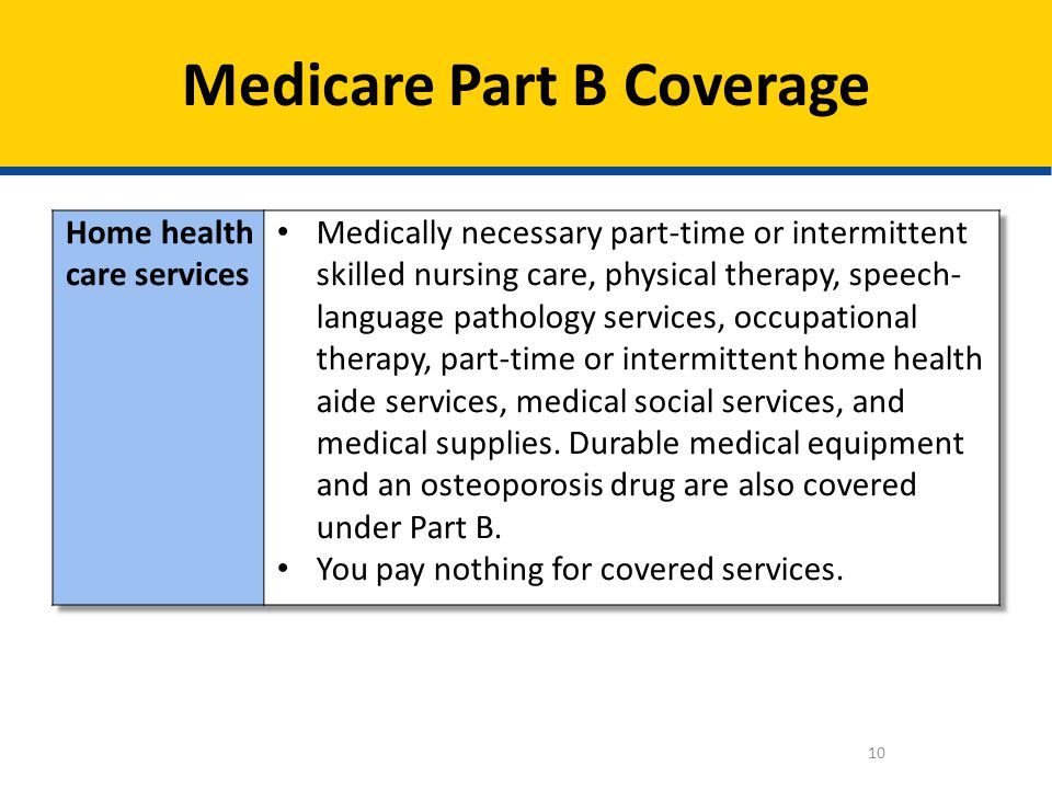10 Medicare Part B Coverage
