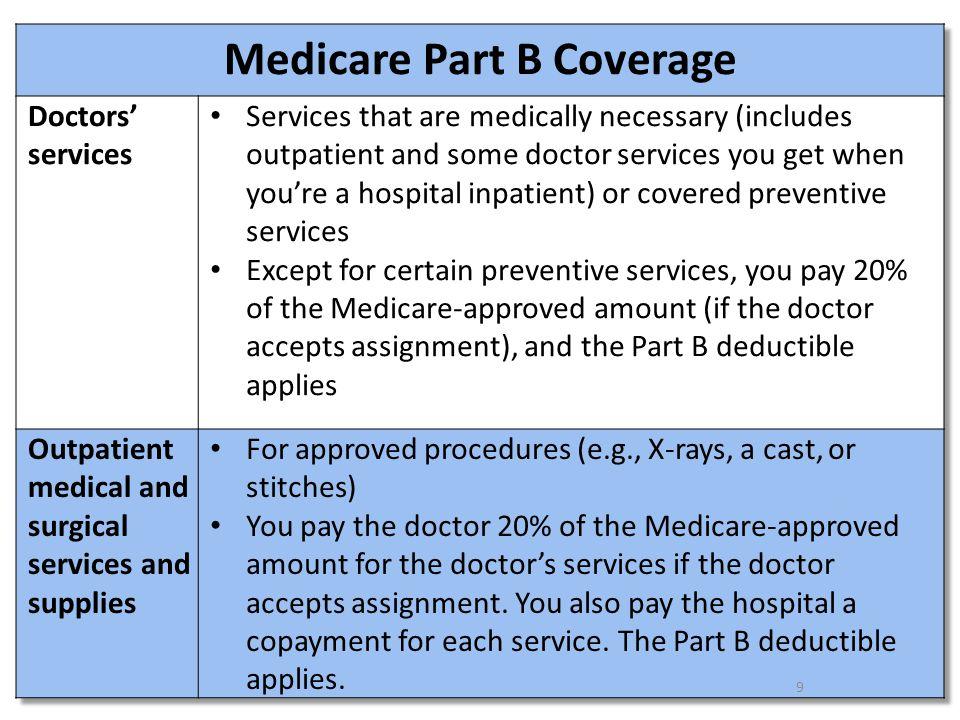 10 Medicare Part B Coverage