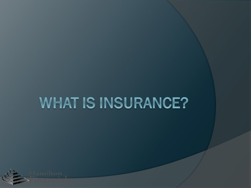 What is an Insurance Policy.
