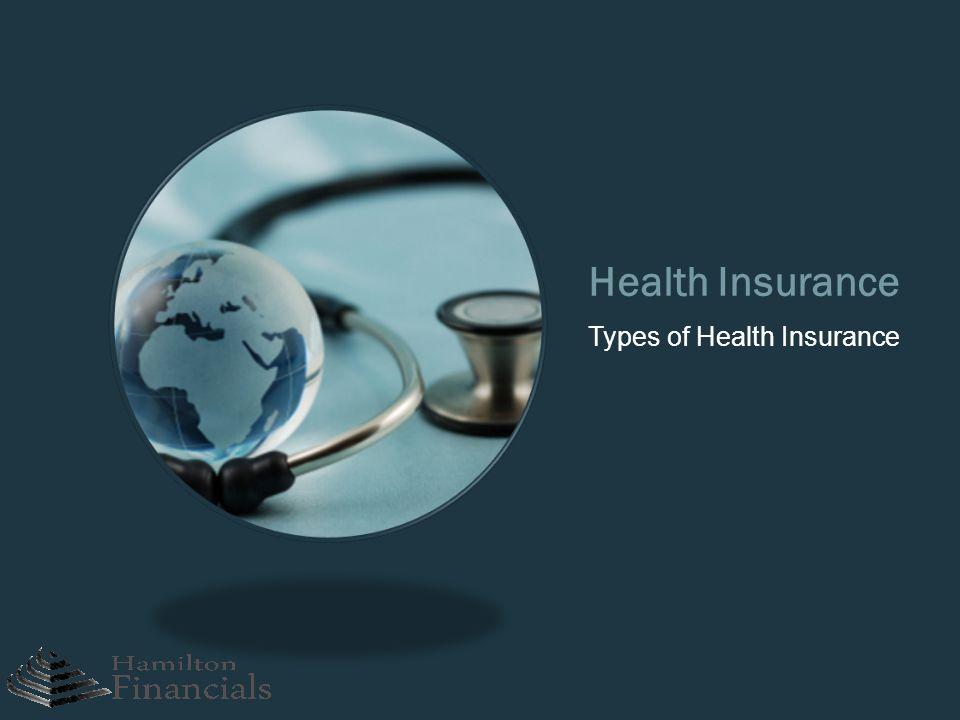 Health Insurance Types of Health Insurance