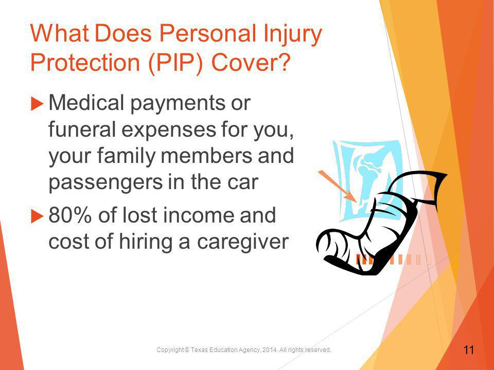 What Does Personal Injury Protection (PIP) Cover.