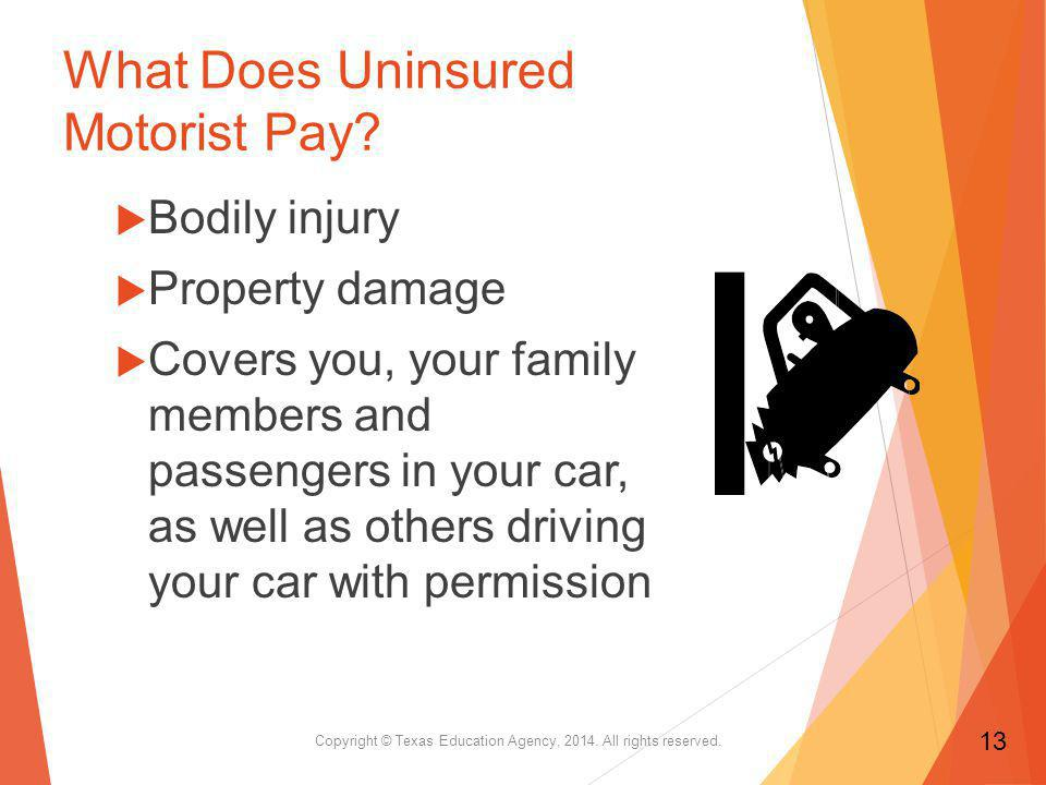 What Does Uninsured Motorist Pay.