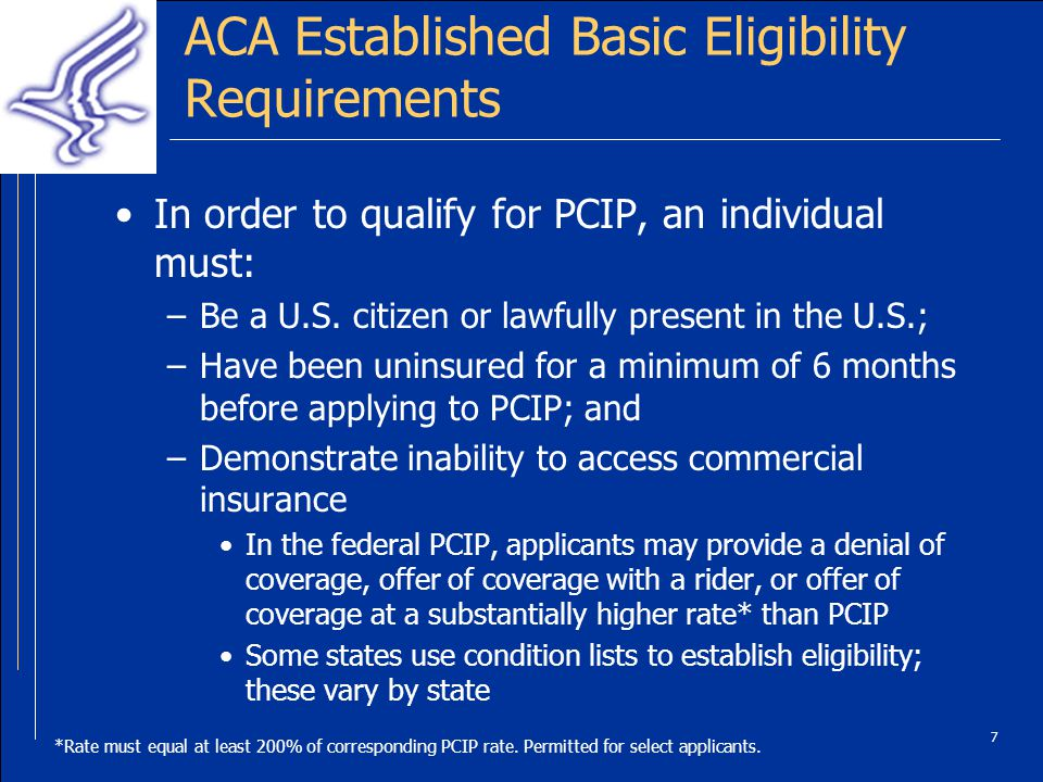 8 States Chose Whether to Run PCIPs