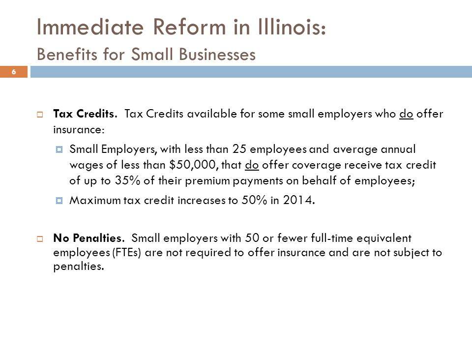Immediate Reform in Illinois: Insurance Market Reforms Effective September 23, 2010 7 No Pre-existing Condition Exclusions for Children under Age 19 Illinois law allows health insurers to deny coverage to individuals for any reason other than a persons race, color, religion, or national origin.