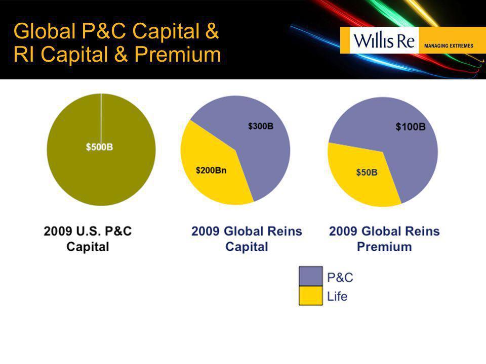 Global P&C Capital & RI Capital & Premium