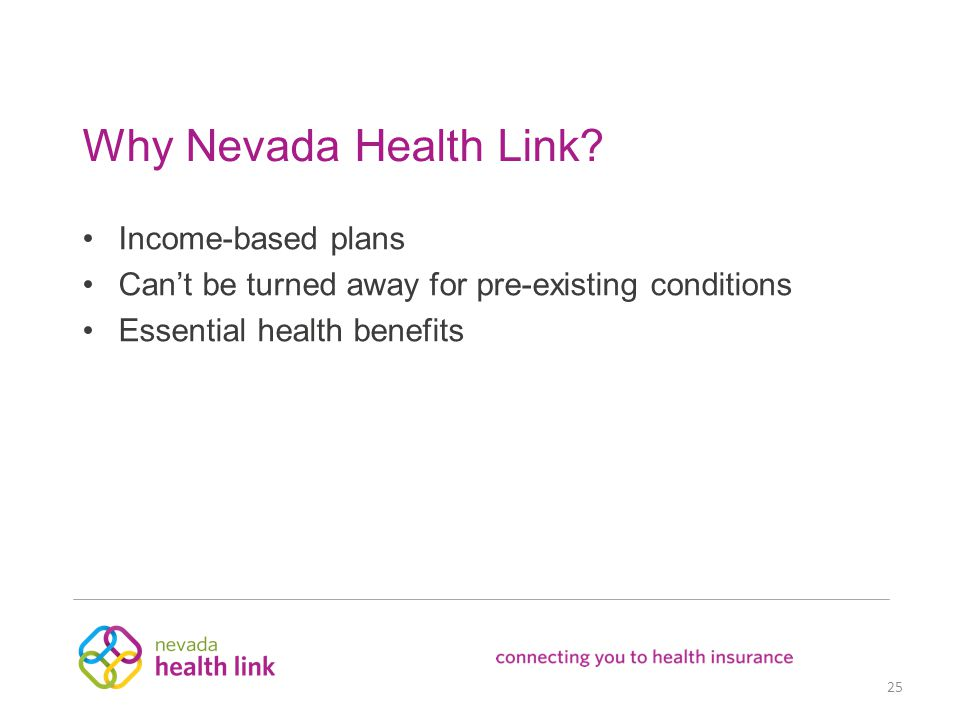 Why Nevada Health Link.