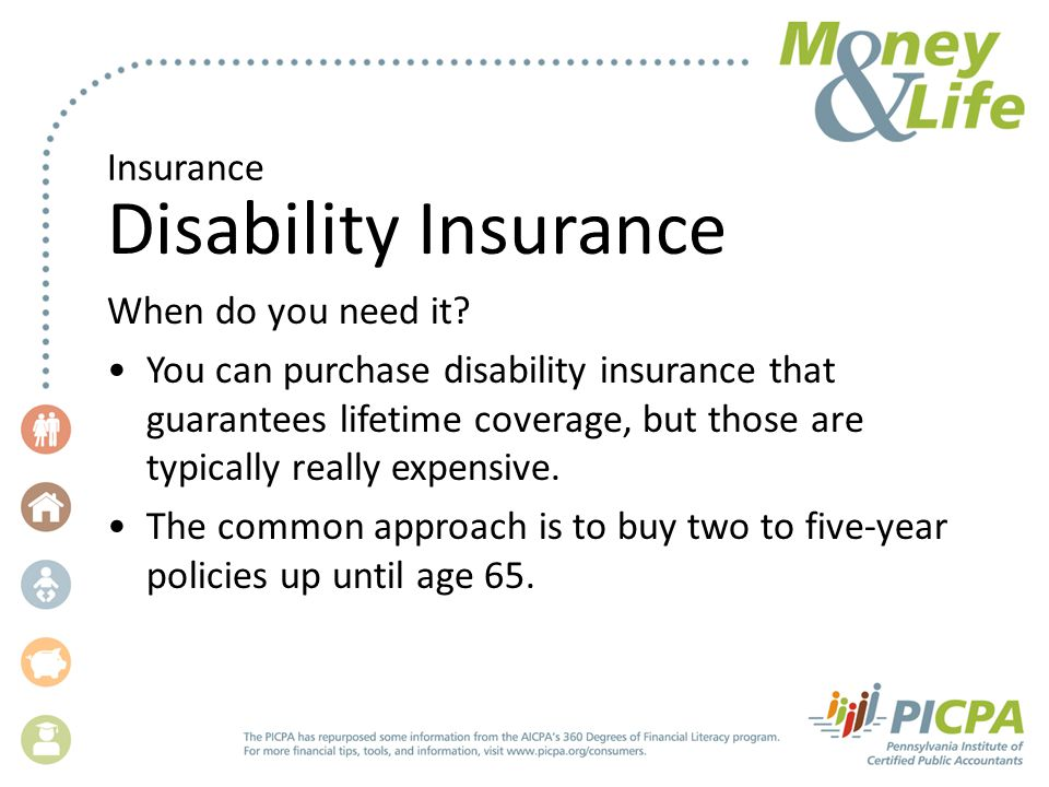 Insurance Disability Insurance When do you need it.