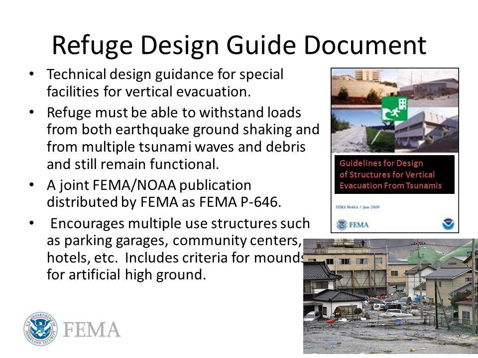 Refuge Design Guide Document Technical design guidance for special facilities for vertical evacuation.