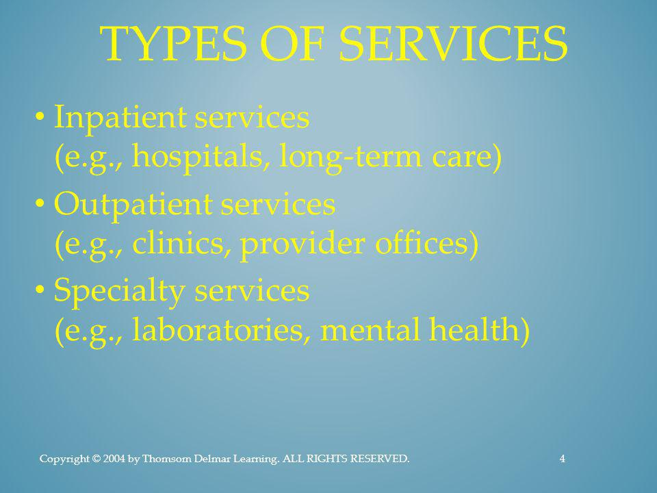 HOW AVAILABLE IS HEALTH CARE.