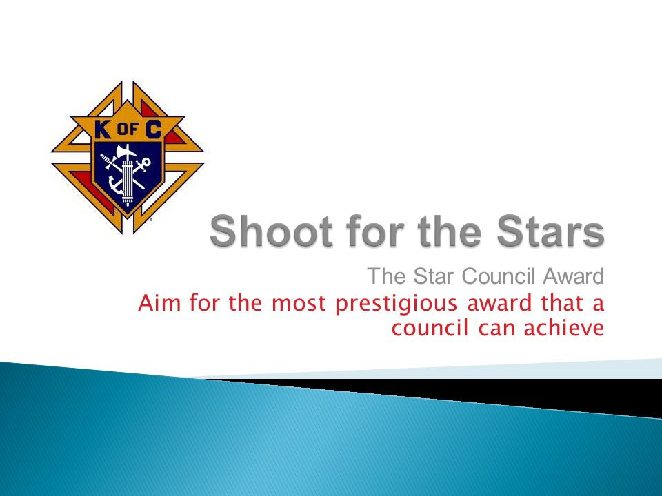 The Star Council Award Aim for the most prestigious award that a council can achieve