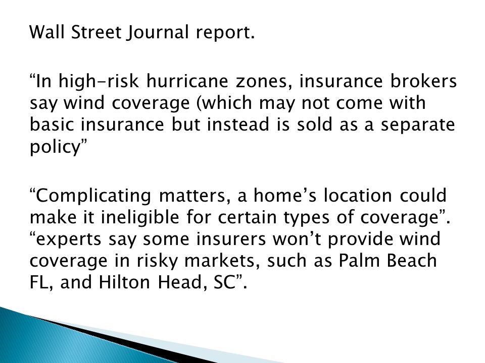 Wall Street Journal report.