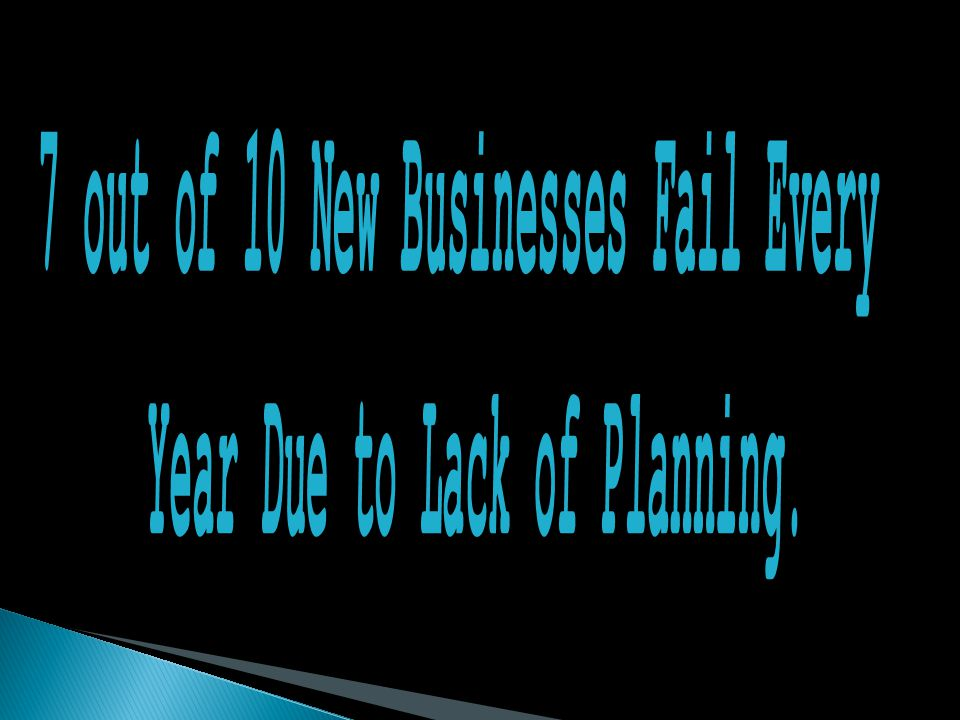 Working with business owners helping them avoid becoming one of the 44% of businesses who fail due to lack of planning.