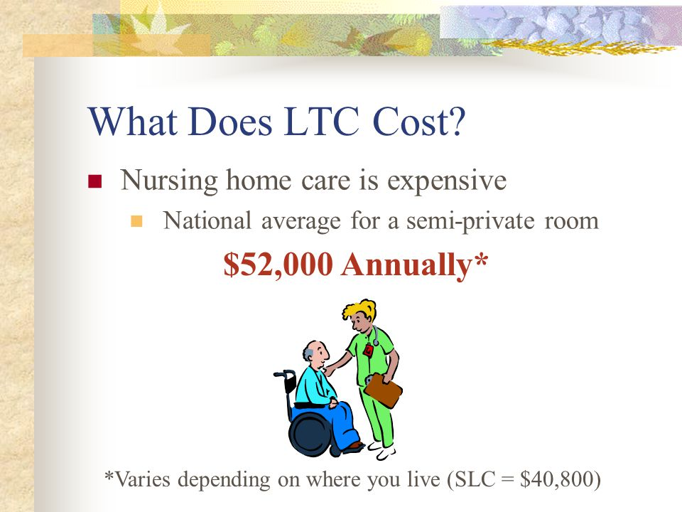 What Does LTC Cost.