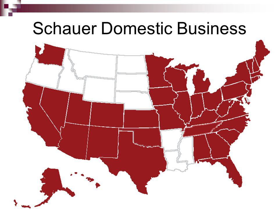 Schauer Domestic Business