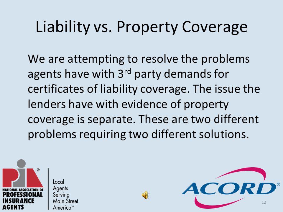 12 Liability vs.
