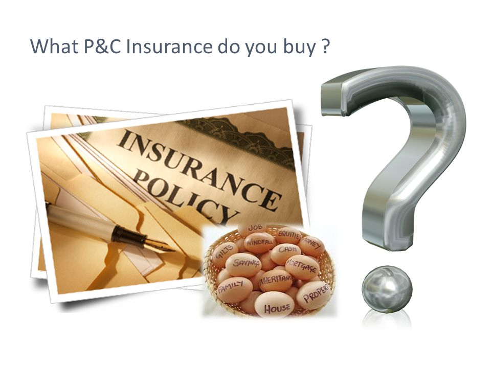 What P&C Insurance do you buy ?