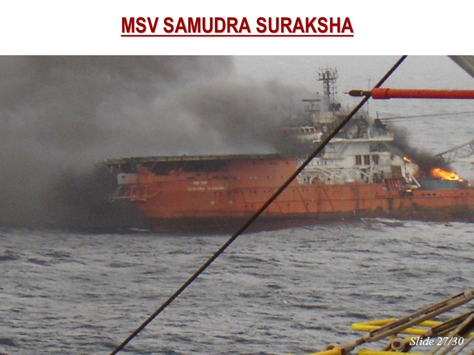 MSV SAMUDRA SURAKSHA Slide 27/30