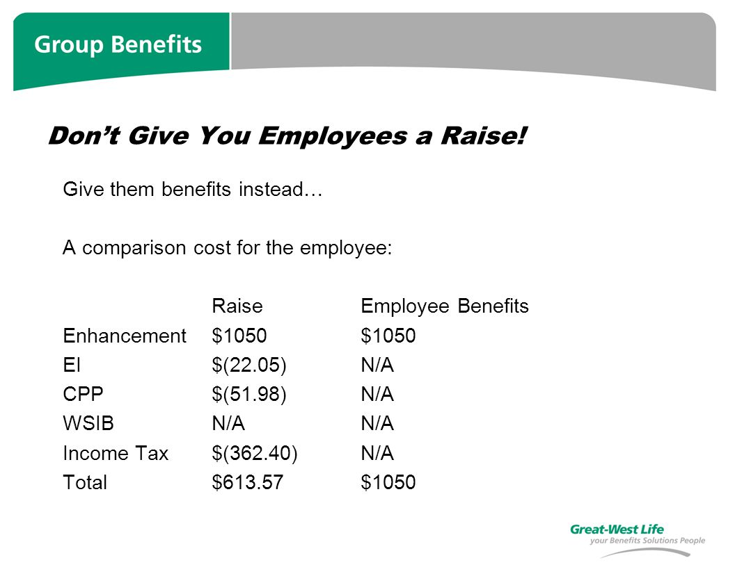 Dont Give You Employees a Raise.