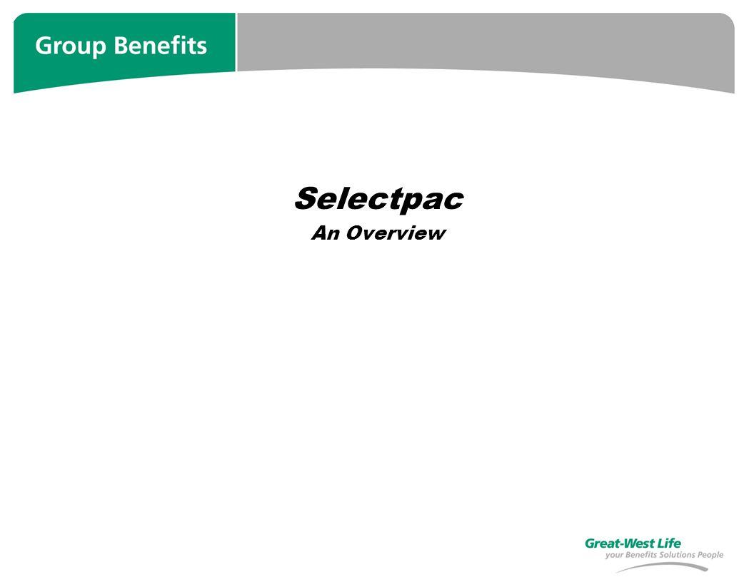 Selectpac An Overview
