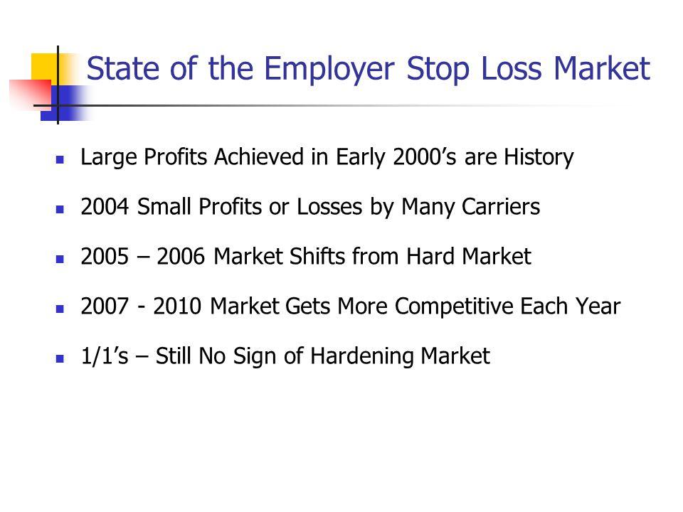 Recent Market Cycles Hard Market Soft Market 1997 1998 1999 2000 2001 2002 2003 2004 2005 2006 2007 2008 2009 2010