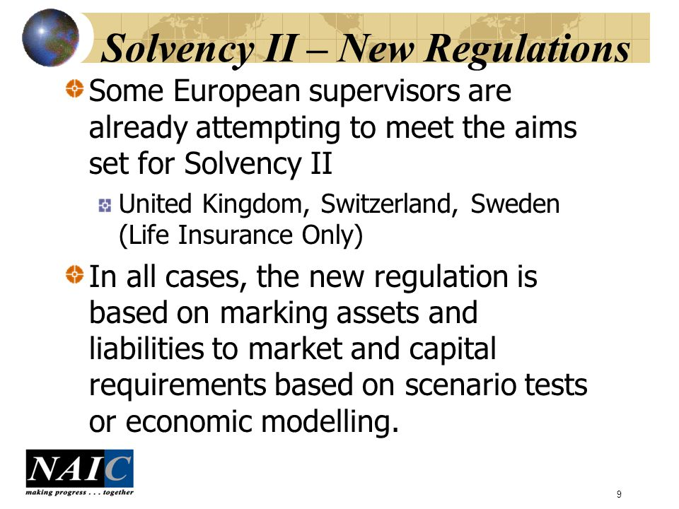 10 Findings – Technical Provisions Problem areas noted were: Lack of resources, time and experience Lack of data and choosing actuarial assumptions Derivation of Risk Margins Treatment of Reinsurance Wide range of methods used by companies to produce results