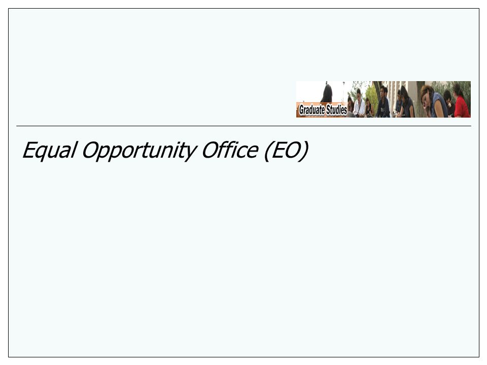 Equal Opportunity Office (EO)