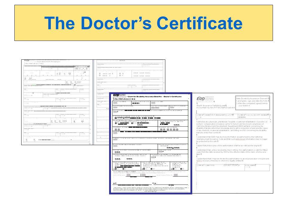 The Doctors Certificate