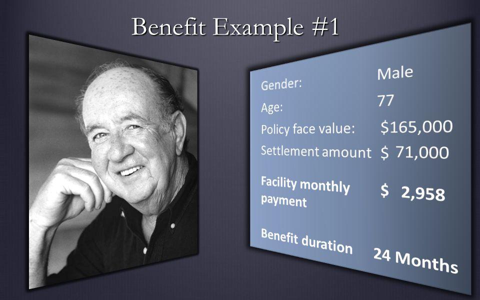 Benefit Example #1