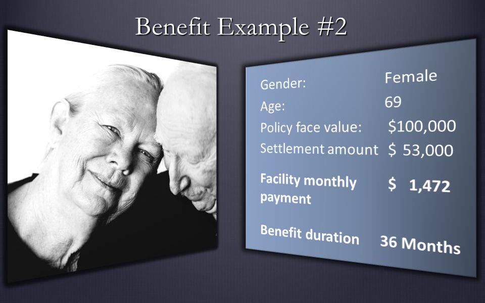 Benefit Example #2