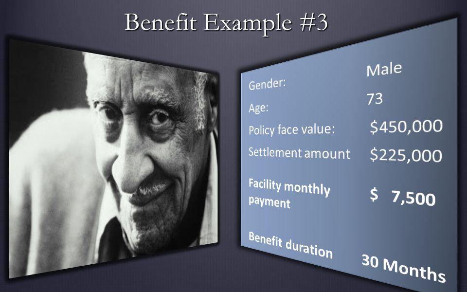 Benefit Example #3