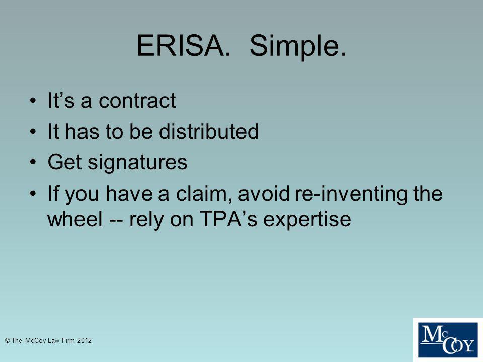 ERISA.Simple.