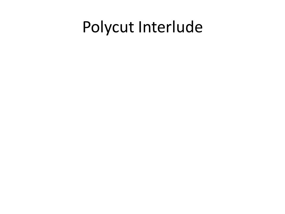 Polycut Interlude